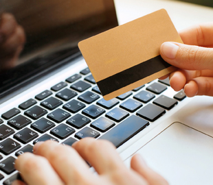 Paying with card online